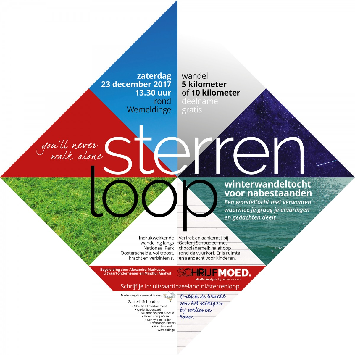 sterrenloop FLYER